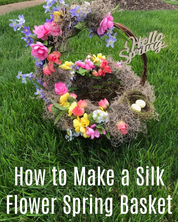 how-to-make-a-flower-easter-basket