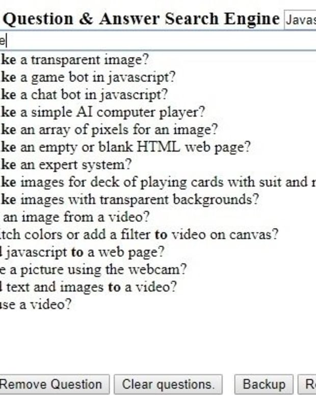 how-to-make-a-personal-question-and-answer-search-engine-in-html-javascript