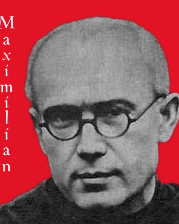 st-maximilian-kolbe-death-camp-hero