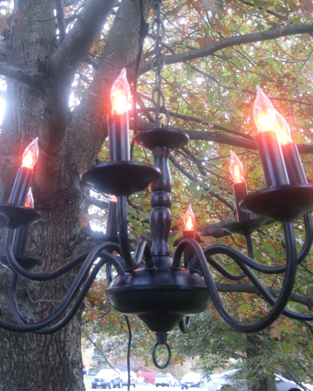 how-to-turn-an-old-light-fixture-into-a-halloween-chandelier