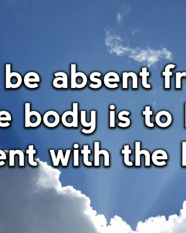 what-it-means-to-be-absent-from-the-body