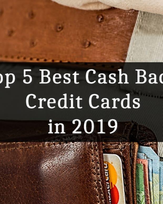 前5人最佳现金返还信用卡