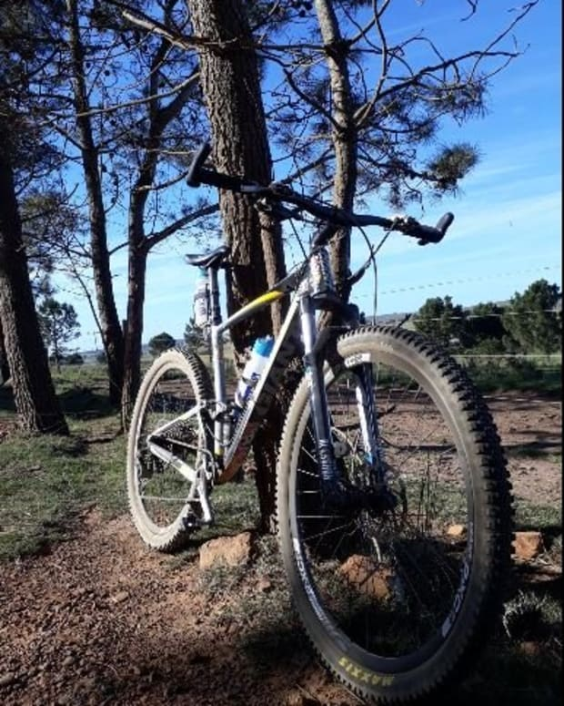 oval-chain-ring-test-on-mountain-bike