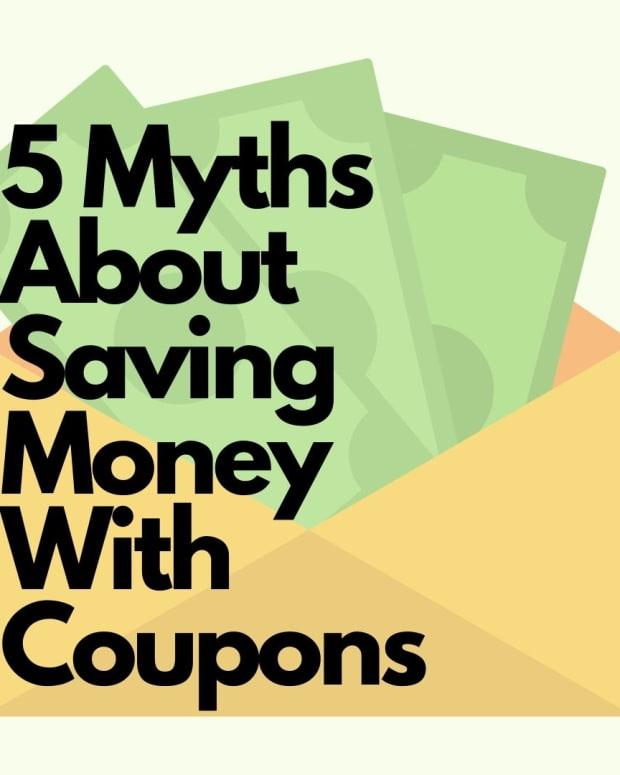 5个神话 - 关于节约金币 - 与优惠券 - 那 - 真实的