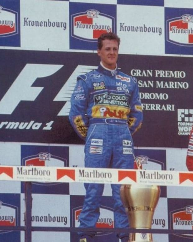 the-1994-san-marino-gp-michael-schumachers-5th-win-and-sennas-loss-forever