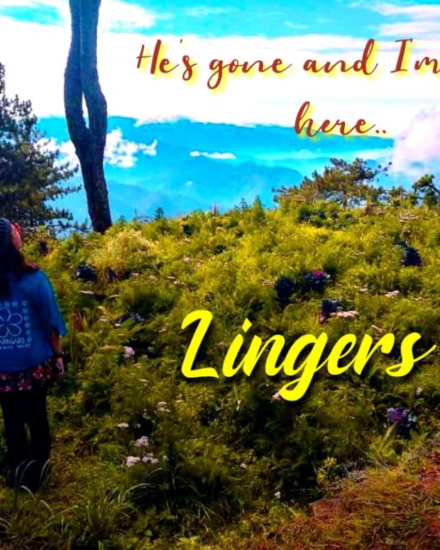 lingers