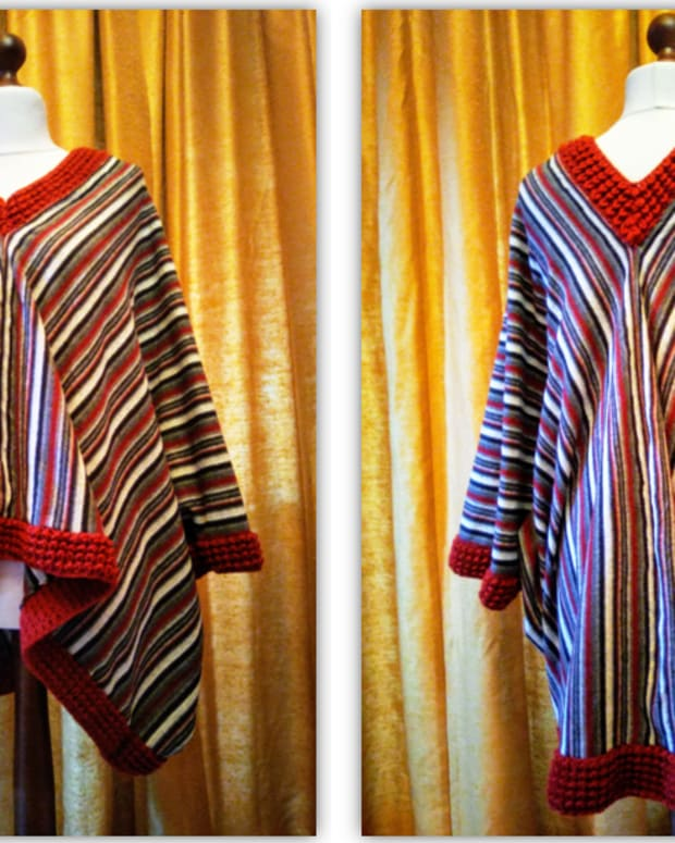 free-quick-and-easy-pattern-for-poncho-top-combining-knitting-and-sewing-techniques