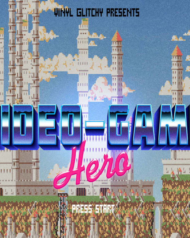 synth-single-review-video-game-hero-by-vinyl-glitchy