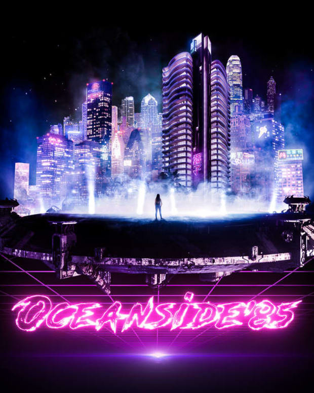 synthwave-single-review-while-the-city-sleeps-by-oceanside85-feat-octal-drive
