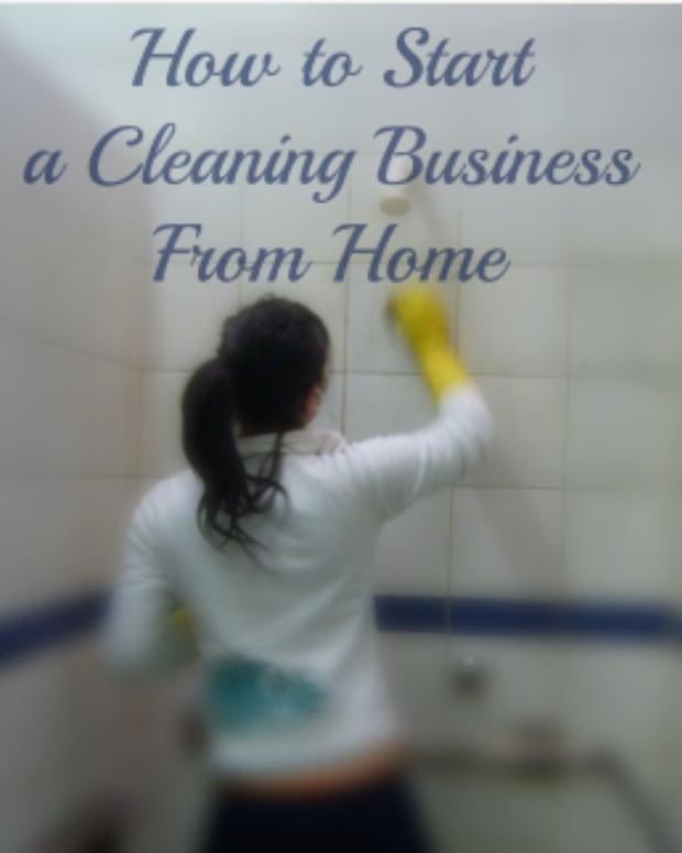 开始 - 清洁 - 商业 - 从家里