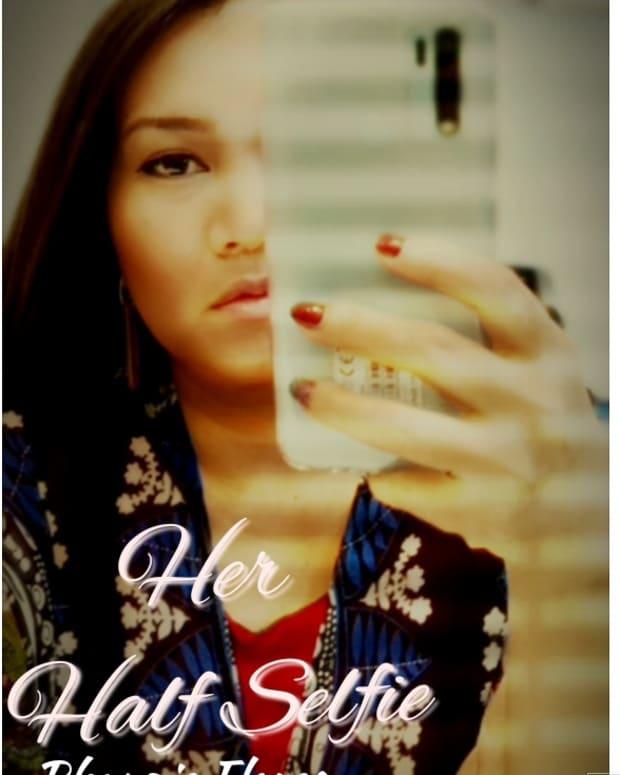 her-half-selfie