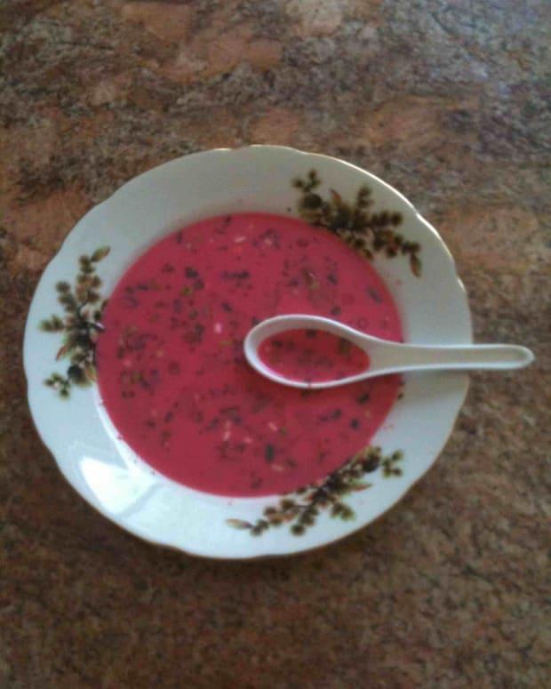 cold borscht