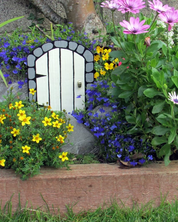 how-to-make-a-fairy-door-fairy-gardens-fairy-house-wooden-doors-fairies-houses-furniture