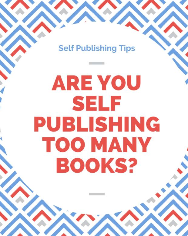 是 - 你 - 自我出版 - 太多书籍