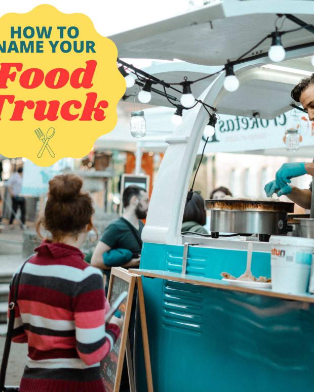 食品 - 卡车名称 - 想法