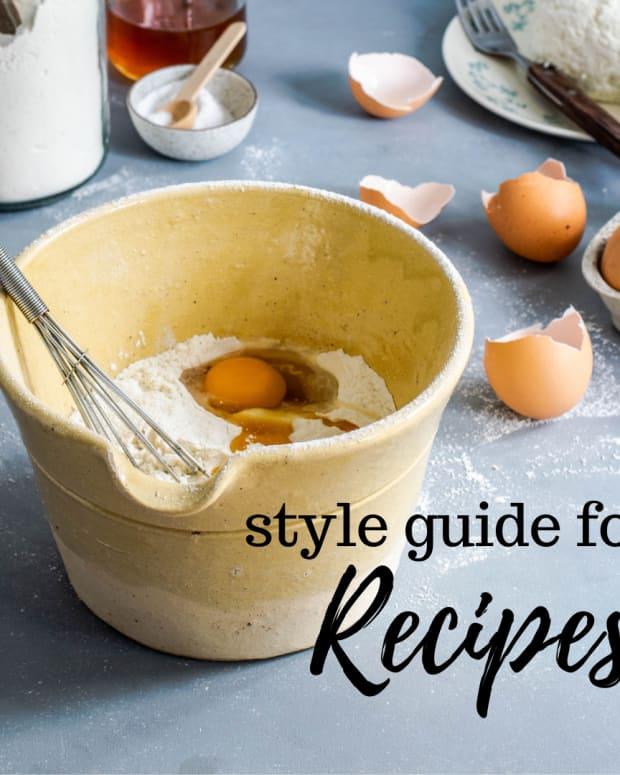recipe-style-guide