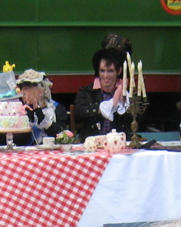 alice-in-wonderland-childrens-book-lewis-carroll-dvd-through-the-looking-glass-guinness-book-of-records-llandudno