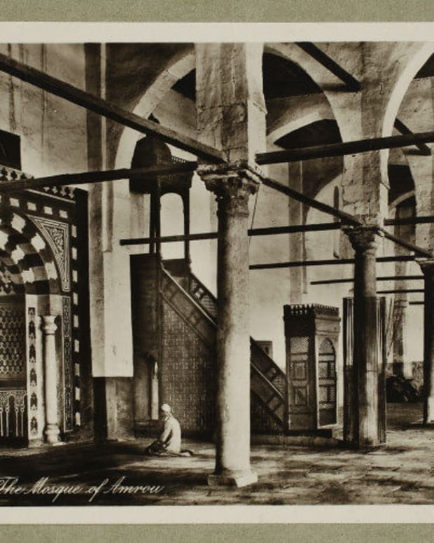 amr-ibn-al-aas-mosque-is-the-oldest-mosque-in-egypt-and-africa