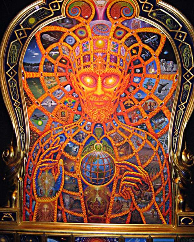 Cosmic Christ by Alex Grey