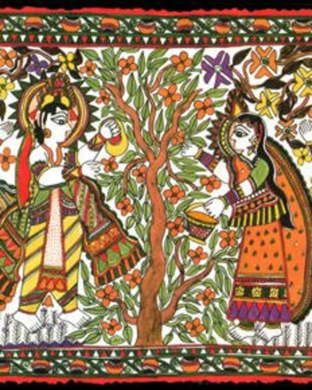 the-general-characteristics-of-madhubani-paintings-an-indian-folk-art