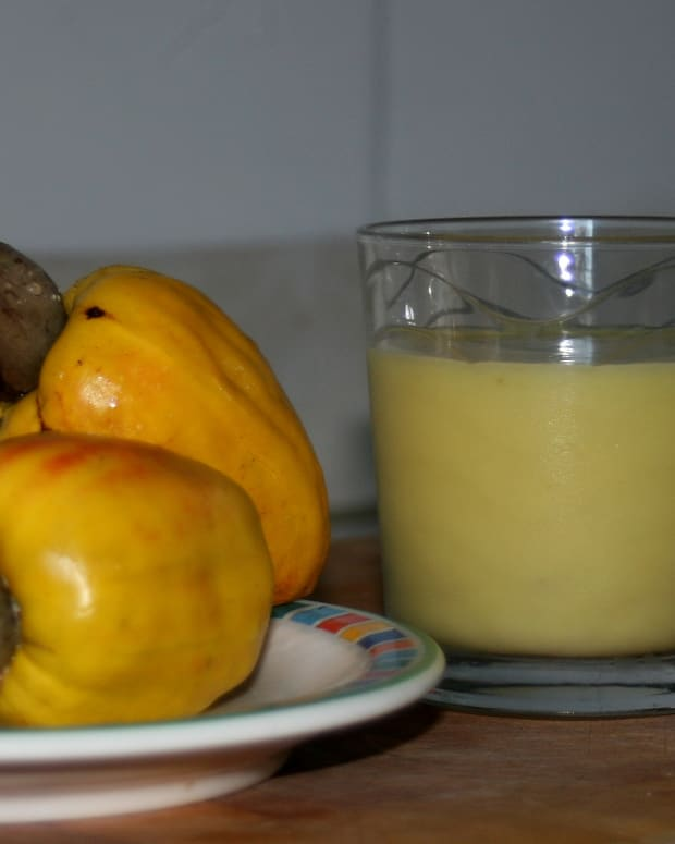how-to-make-cashew-juice