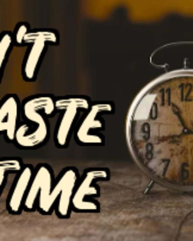 poem-dont-waste-time