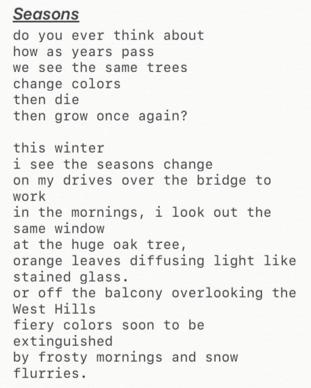 """Seasons"""