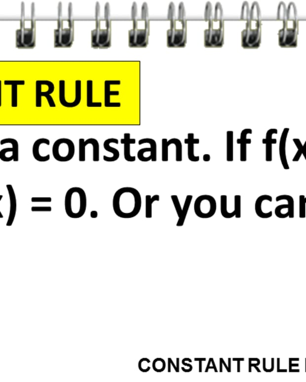 the-derivative-of-a-constant-with-examples