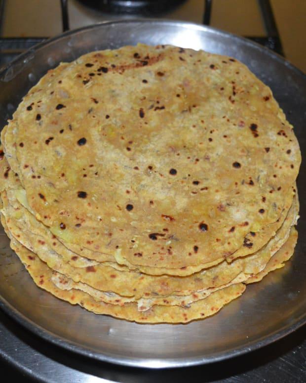 spicy-cabbage-onion-paratha-recipe