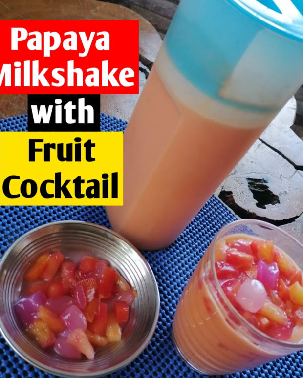papaya-milkshake-with-fruit-cocktail