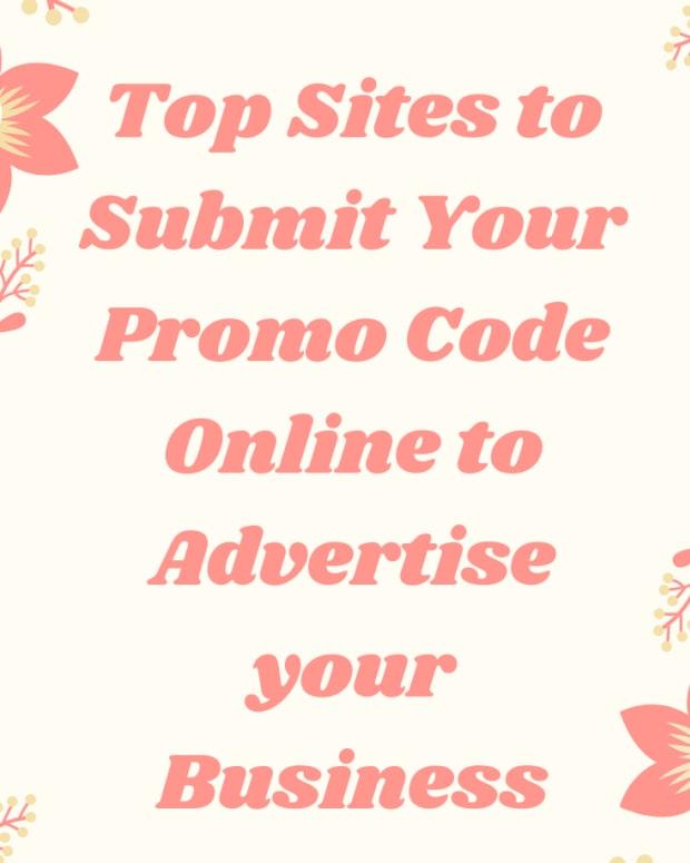 提交 - 促销代码 - 网站列表
