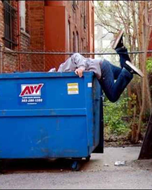 垃圾箱潜水 - 找出宝藏