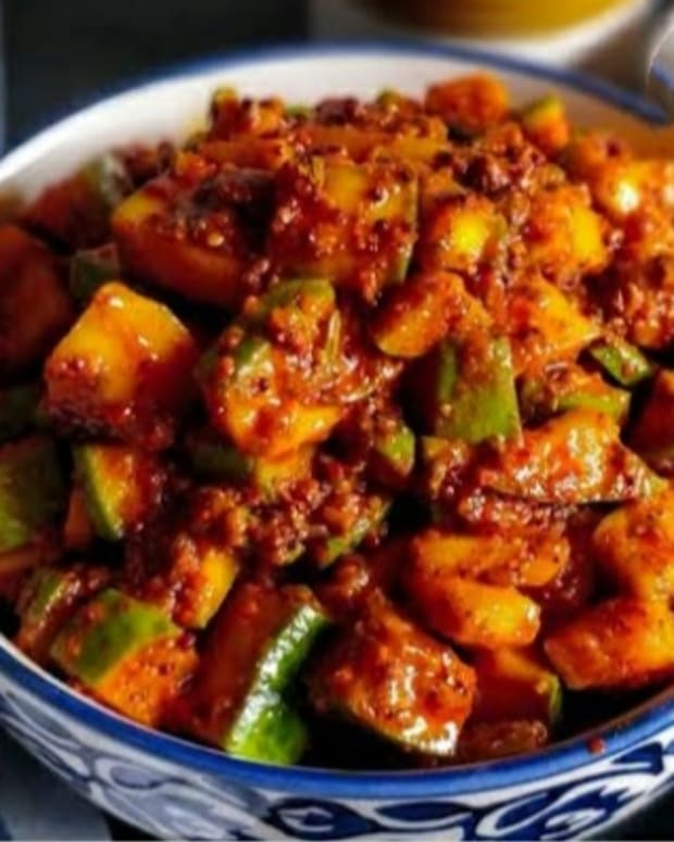 make-sweet-mango-pickle-at-home-simple-way-to