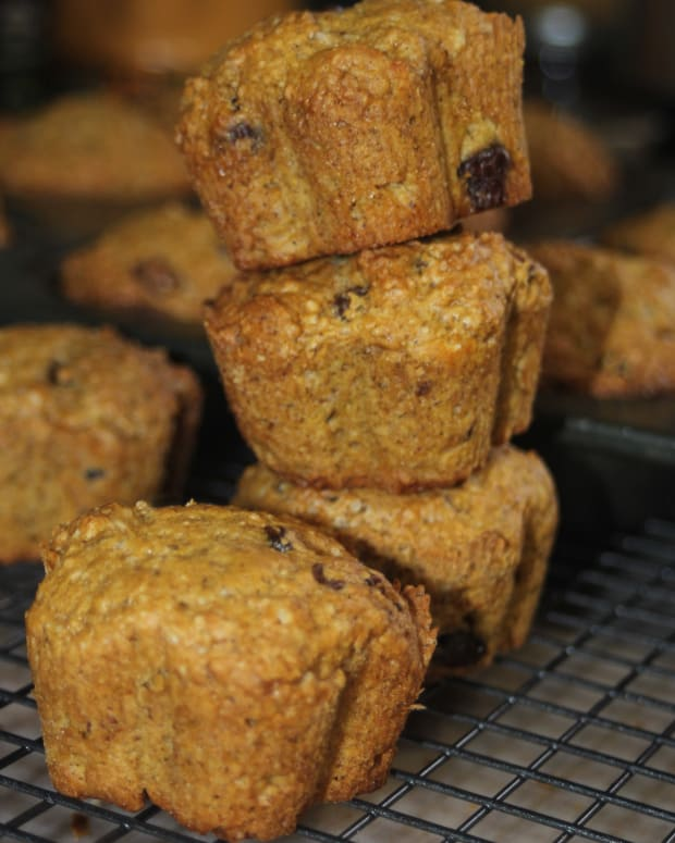 vegan-pumpkin-muffin