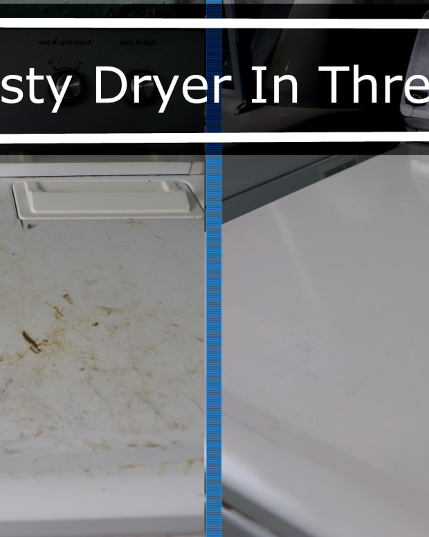 how-to-remove-rust-from-a-dryer-in-three-simple-steps