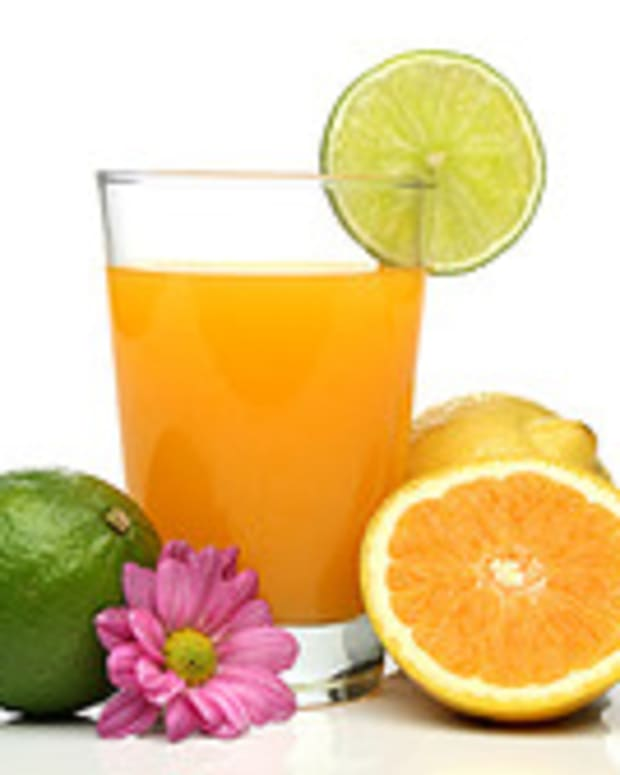 Some juice every day will help keep the hangover away!