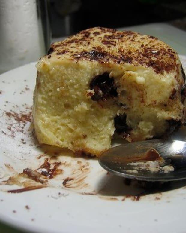 Delicious bread pudding