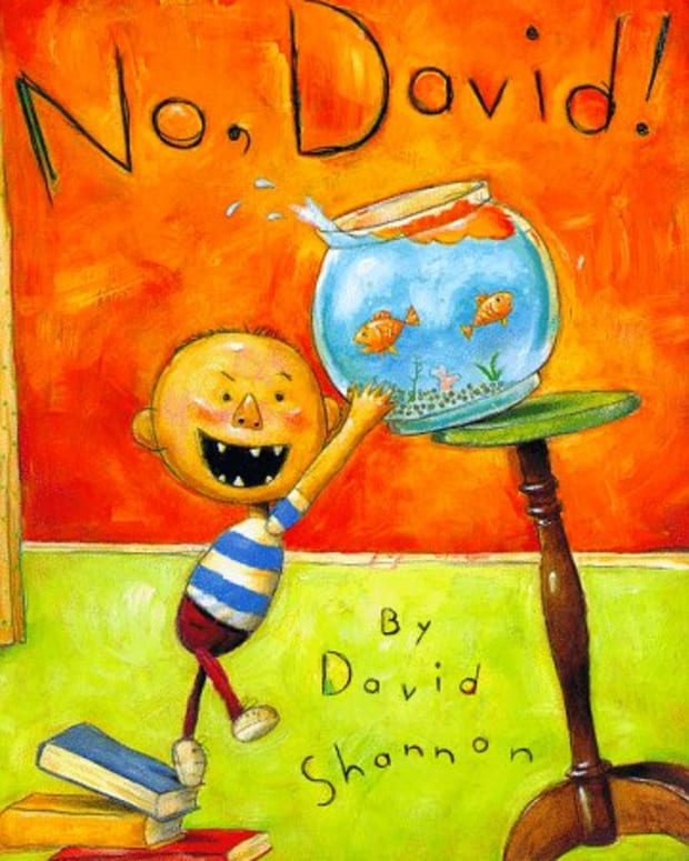 No David! By David Shannon will make your holy terror look like an angel!