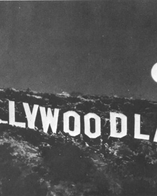 The Original Hollywoodland Sign