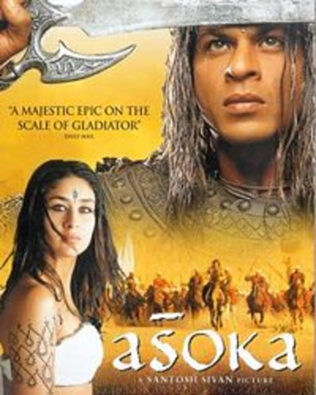 A movie made about Ashoka's life (2001)
