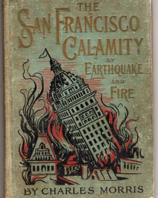 A commercial book about the San Francisco Earthquake published 1906.