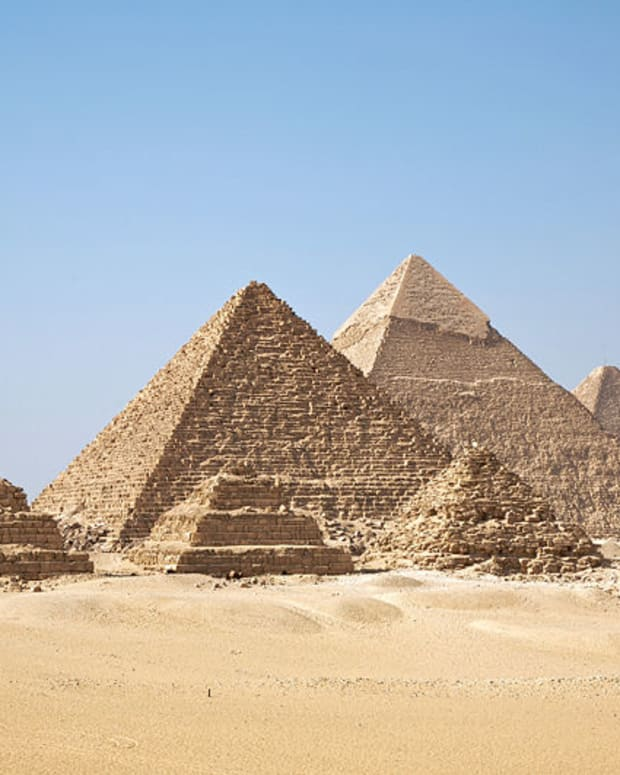 The pyramids of Egypt: A symbol of civilization