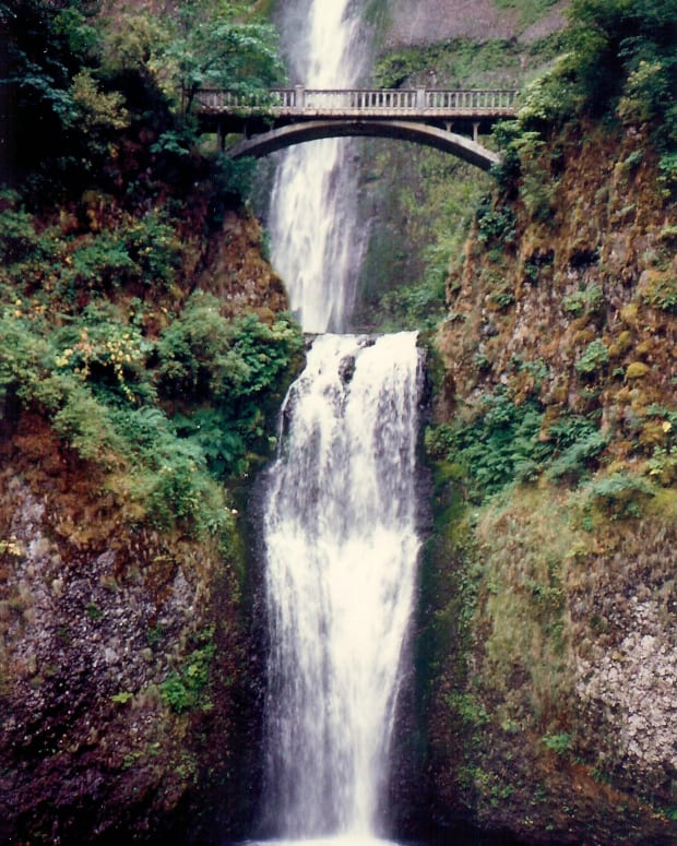 Multnomah Falls * Photo by Peggy W