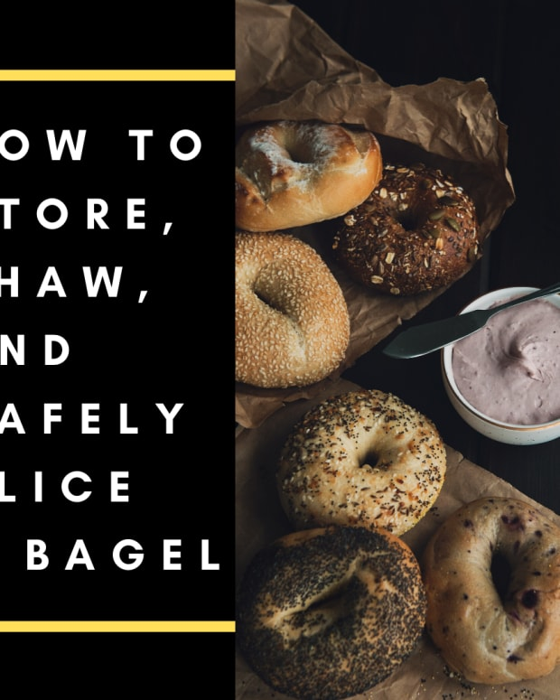 store-thaw-slice-bagel-safely