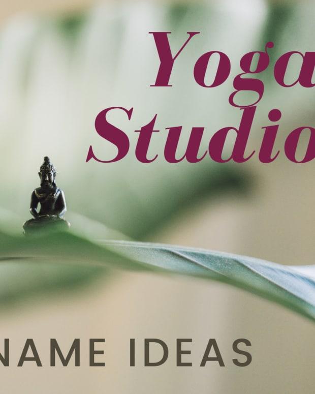 150 -创意-名字- -瑜伽工作室