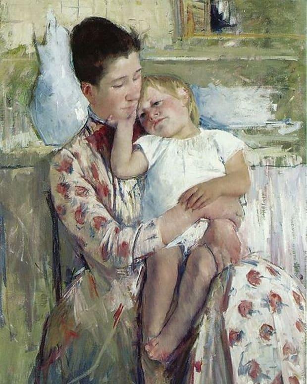 by Mary Cassatt 1890