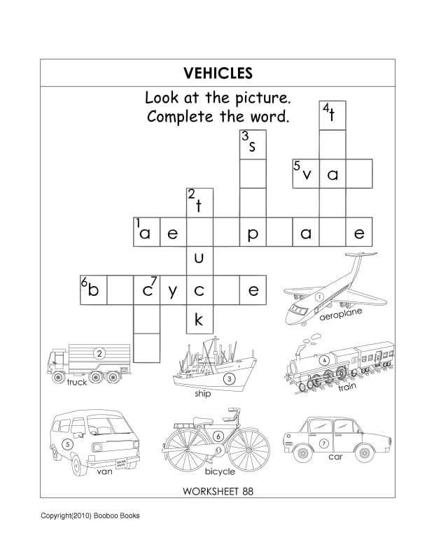 kindergarten-worksheets