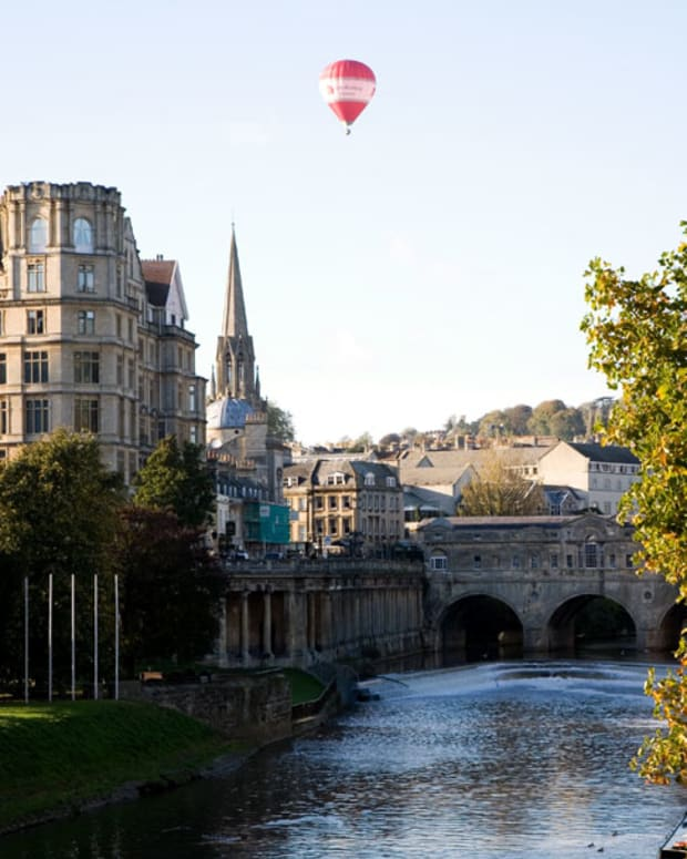 The River Avon in bath