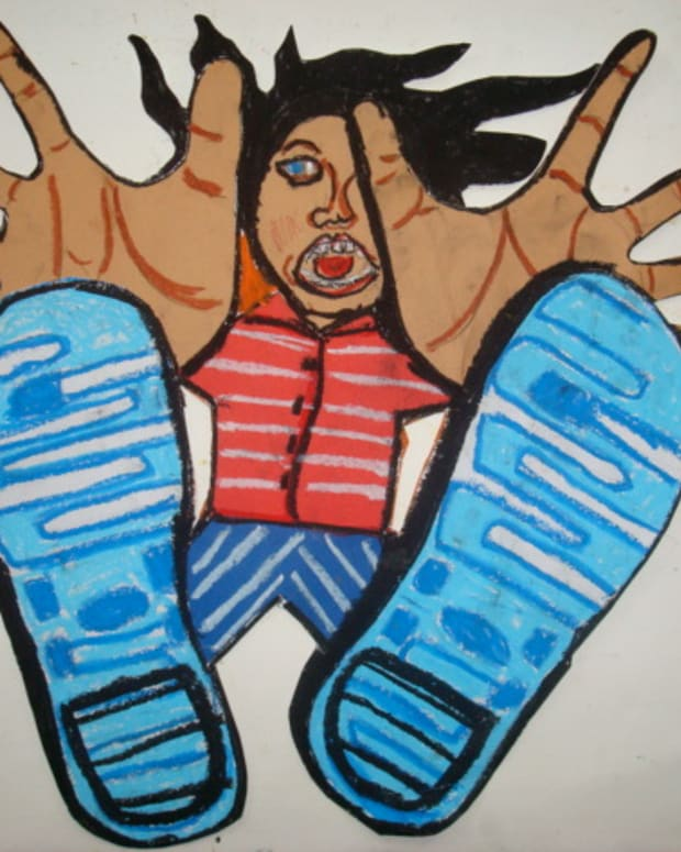 kids-art-project---falling-for-foreshortening