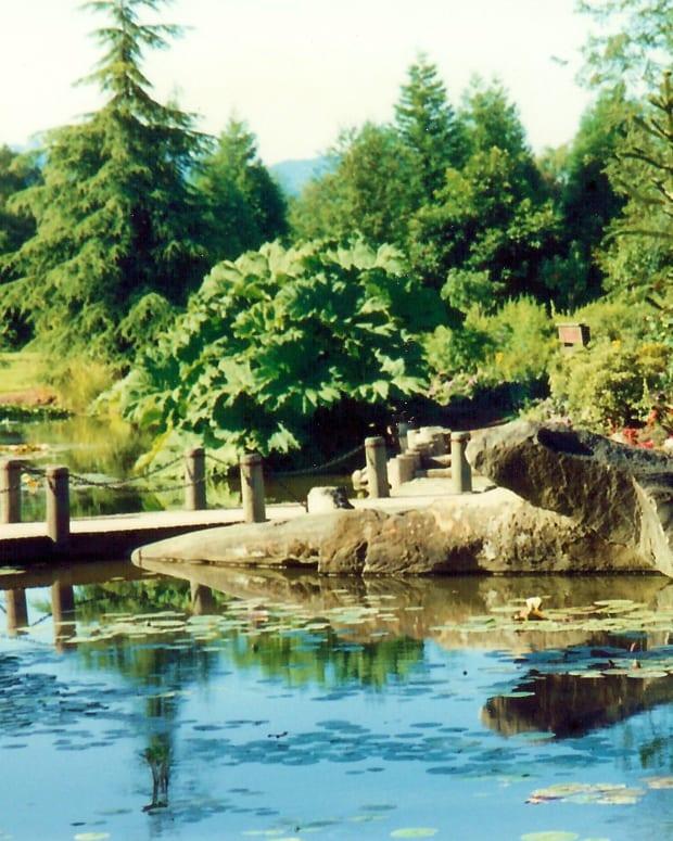 The beautiful Van Dusen Botanical Garden * Photo by Peggy W